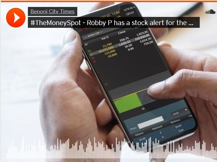 TheMoneySpot - Robby P has a stock alert for the weekend