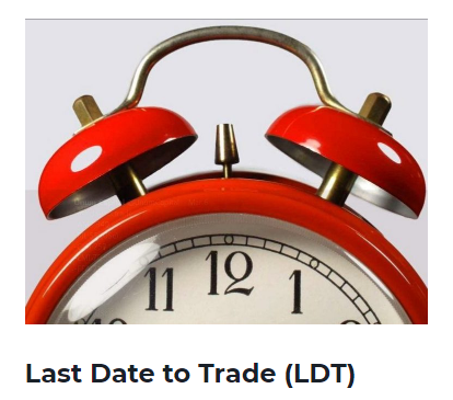 LDT(Last Day to Trade) 17 May 2018 for the following stocks